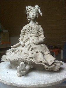 Mylène Laborne Sculptrice sur argile